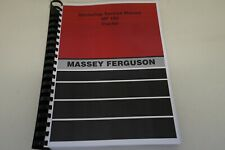 Massey Ferguson MF165 Tractor Workshop Service Manual