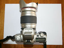 Pentax MZ-50 28-210mm F4.2-6.5 IF Aspherical lens, working, new batteries, strap