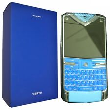 New Vertu Constellation Quest Blue Limited Edt 24/77 Factory Unlocked 3G Simfree