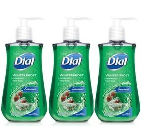 Lot of 3 New Dial Winter Frost Hydrating Hand Soap 7.5 fl oz