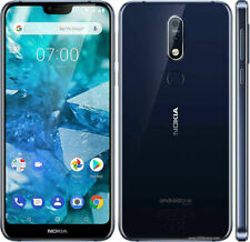 Nokia 7.1 Blue 64GB Unlocked Cellphone (BRAND NEW, SEALED IN BOX)