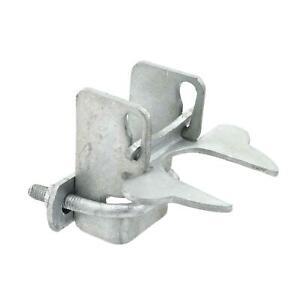 "Kennel Latch Pressed Steel 1 3/8"" x 1 3/8"" Kennel Flip Latch"