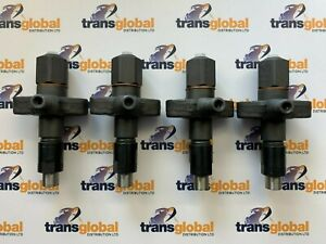 Fuel Injector x4 for Land Rover Defender Series 3 2.25 2.5 Diesel ERR1266