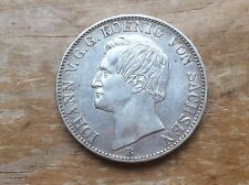 1863-B Sachsen( Saxony) silver thaler @@@ must see @@@