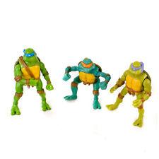 Teenage Mutant Ninja Turtles Joblot Of 3 Action Figures. Mirage. 2005