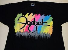 Foghat Shirt Mens L English Rock Band Colorful Rainbow