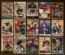 JEREMIAH TROTTER Philadelphia Eagles 2000 Fleer SIGNED / AUTOGRAPH (Tough) Card
