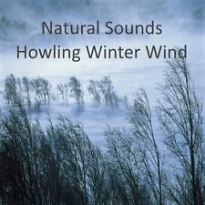 NATURAL SOUNDS HOWLING WINTER WIND RELAXATION STRESS SLEEP AID CALM NATURE CD