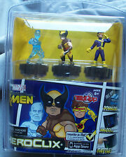 Hero Clix TabApp - Marvel 3-Pack - Wolverine, and the X-Men (Cyclops & Iceman)