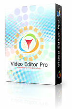 Video Editor Software Record Trim Cut Split Merge Rotate and Mix Videos PRO DVD