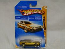 New ListingNib Hotwheels 2010 Hw Premiere '81 Delorean Dmc-12 #16 (gold)