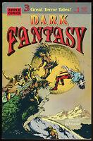Dark Fantasy 1 Comic Kevin Schnaper art Apple EC Comics like Horror & Sci-Fi