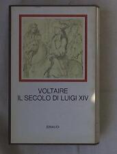 27418 (I millenni) Il secolo di Luigi XIV / Voltaire
