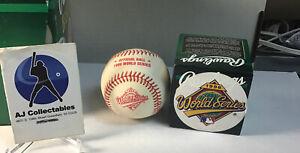 1996 World series Rawlings official major league baseball factory sealed jl/g2