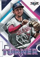 2020 TOPPS FIRE BASEBALL TREA TURNER WASHINGTON NATIONALS B2019-3