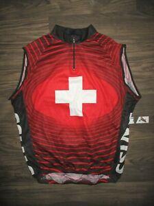 Swiss Cycling Jersey 1/4 zip XXXL