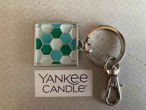 """Yankee """"Mosaic"""" Keyring/Handbag Charm - Charming Scents Collection - Free P&P"""