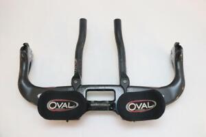 Oval A901 Carbon Handlebar Aero Bar Base TT Tri 42cm 26.0mm Brake Levers