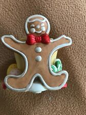 Partylite Gingerbread Man Christmas Votive Candle Holder P7902