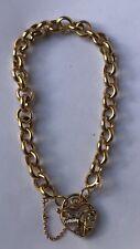18K Yellow Gold Charm Child Bracelet