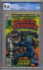 BLACK PANTHER #5 CGC 9.6 WHITE PAGES