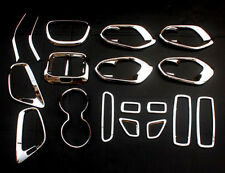 18* Interior Accessories Whole Kit Cover Trims for Jeep Cherokee 2014 2015 2016