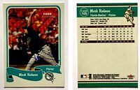 Mark Redman Signed 2004 Fleer Tradition #105 Card Florida Marlins Auto Autograph