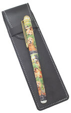 More details for norfolk & norwich terrier breed of dog themed pen with pen case perfect gift