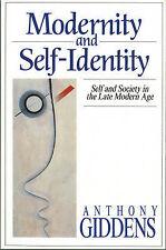 Modernity and Self-Identity.