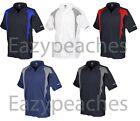 REEBOK GOLF NEW Mens Size ColorBlock Dri-fit Polo Sport t Shirts 2X, 3X, 4X, 5X