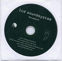 LCD SOUNDSYSTEM Movement 2004 UK 1-track promo CD