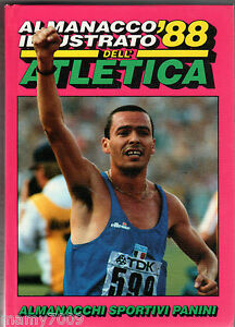 ALMANACCO ILLUSTRATO DELL'ATLETICA 1988=PANINI MODENA=OTTIMO STATO