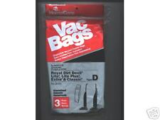 Vacuum -Cleaner-Bags- For-Royal Dirt Devil-Type D