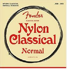Fender Nylon Tie End Classical Guitar strings - 100 Clear Medium .028 - .043