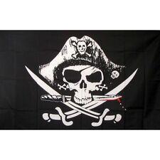 Pirate Deadmans chest Flag Banner Sign 3' x 5' Foot Polyester Grommets