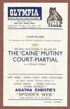 Olympia, Dublin 1957 The Caine Mutiny Court Martial Barry Letts, A.Burley  JX276
