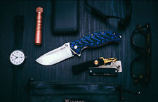 SANRENMU SRM BallBearing Flipper System 9Cr14 Steel Blade Folding Pocket Knife