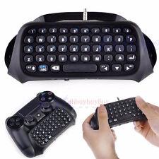 New PS4 Bluetooth Wireless Keyboard Keypad Chatpad F PlayStation 4 Controller vu