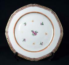 More details for antique chinese qianlong porcelain dinner plate 18thc