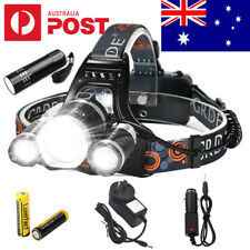 2020 RECHARGEABLE 60000LM CREE 3T6 XM-L LED HEADLAMP HEADLIGHT HEAD TORCH NEW