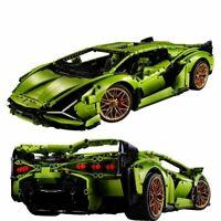 Speed Champions Designer Building Blocks Corvette Lamborghini Sian FKP 37