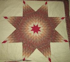Vintage Traditional Design Heirloom Quilt Star Americana Free Shipping