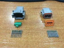 Deutsch DT 8-Way 8 Pin Electrical Connector Plug Kit