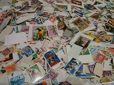 Lotto di oltre 1000 francobolli mondiali misti grandi e piccoli,nuovi e usati