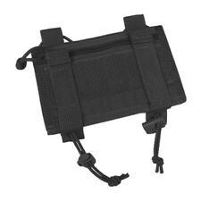 Flyye Army Tactical Military Arm Band Id Holder Admin Pouch Airsoft Nylon Black