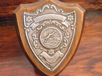 Antique silver swimming Shield Birm 1932 Silver Art Deco Sporting Collectible