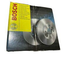 2 St. BOSCH Bremsscheiben Voll beschichtet 0986479C60 Hinterachse Hinten NISSAN