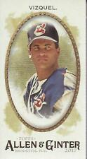 2017 Topps Allen and Ginter Mini No Number #47 Omar Vizquel - NM-MT