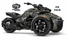 "Can Am Spyder F3 F3S Decal Graphic Wrap kit - ""OL WARBIRD"" WW2 RAF RCAF"