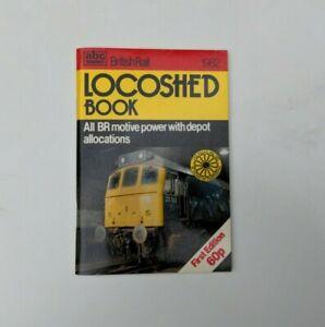 abc Ian Allen British Rail Locoshed Book First Edition 1982